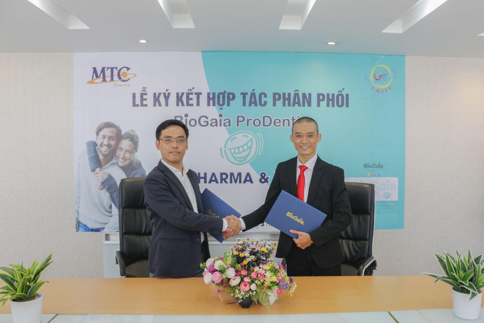 ConeX hợp tác phân phối BioGaia Prodentis cùng MTC Pharma